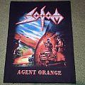 orginal Sodom Agent Orange back patch