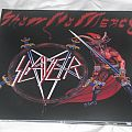 "Slayer - Show no Mercy 12"" grey & red vinyl. Tape / Vinyl / CD / Recording etc"