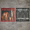 Bathory - Under the Sign of the Black Mark & Burzum - Det som engang Var woven patches