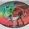 "Iron Angel - Hellish Crossfire 12"" vinyl pic disc. Tape / Vinyl / CD / Recording etc"