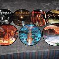 "Bathory 12"" Pic Disc collection: 1984 - 1991 era."