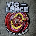 Vio-lence - Eternal Nightmare pin badge  Pin / Badge