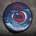 Obituary - Cause of Death circular vintage 1990 Blue Grape Merchandising woven patch from Aces High for Joel.