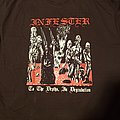 Infester - To the Depths, in degradation t-shirt