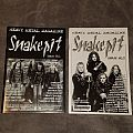 First two issues of Snakepit Magazine.