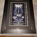 Behexen - Other Collectable - Framed Demoncy & Behexen 2017 Santa Cruz show poster
