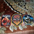 Woven Avenger, Witch Cross and King Diamond patches