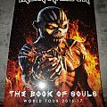 Iron Maiden - The Book of Souls 2016/2017 yearbook.