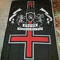 Kroda - HelCarpathian Black Metal flag