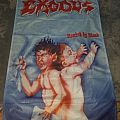 Exodus - Bonded by Blood poster flag.   Other Collectable