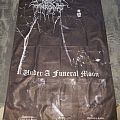 Darkthrone - Under a funeral Moon poster flag.   Other Collectable