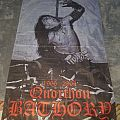 Bathory - Quorthon poster flag.   Other Collectable