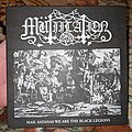 "Mütiilation - Tape / Vinyl / CD / Recording etc - Mütiilation - Hail Satanas We are the Black Legions 7"" red vinyl"