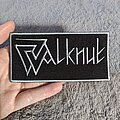 Walknut - Patch - Walknut embroidered logo patch