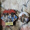 Grand Belial's Key - Pin / Badge - I. N. R. I. & Mocking the Philanthropist pin & button