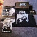 Horna - Tape / Vinyl / CD / Recording etc - Horna & Legion of Doom - Ilman arvoa ja arkkua / Kinaidos vinyl split