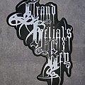 Grand Belial's Key - Patch - Grand Belial's Key shaped woven logo back patch