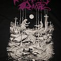 XXL Mortuary Drape - Necromantic Doom Returns 2018 U. S. tour t-shirt