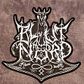 Blut aus Nord shaped logo back patch