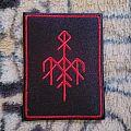 Wardruna woven logo patch