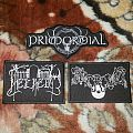 Embroidered Primordial, Helheim and Strid patches