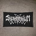 Embroidered Sacramentum logo patch