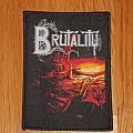 """Brutality """"When the sky turns black"""" patch"""