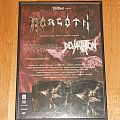 """Morgoth - Other Collectable - Morgoth """"cursed"""" tour poster"""