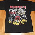 """Iron Maiden """"the number of the beast"""" shirt"""