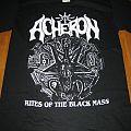 "Acheron - TShirt or Longsleeve - Acheron ""Rites of the black mass"" shirt"