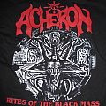 "Acheron - Hooded Top - Acheron ""Rites of the black mass"" Hoodie"