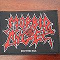 Morbid Angel - Patch - Morbid Angel logo patch