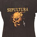 "Sepultura ""beneath the remains"" shirt"