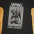 """Samael - TShirt or Longsleeve - Samael """"static journey"""" shirt"""