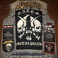 metal punk battle jacket close to finished....