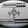 Queensryche - Pin / Badge - Queensryche button