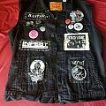 Black vest Battle Jacket