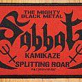 Sabbat - Kamikaze Splitting Roar Patch
