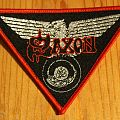 Saxon - Wheels of Steel Triangle Patch