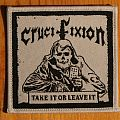 Crucifixion - Take it or Leave it Patch