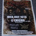 Other Collectable - Dismember 2008 Signed Tour Poster