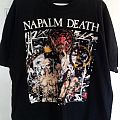 Napalm Death - TShirt or Longsleeve - napalm death(utopia banished tour) original