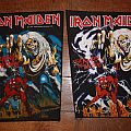 Iron Maiden - Patch - IRON MAIDEN Number of the Beast back patchs