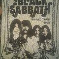 Black Sabbath patch black and white band 1978 tour
