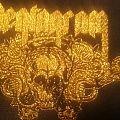 Pentagram  patch gold leaf