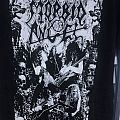 morbid angel m Tour tshirt 2017 b&w