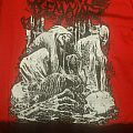 Skeletal Remains red t-shirt M 2017  tour oakland