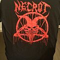 Necrot m tshirt 2016 red Oakland