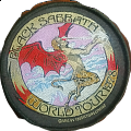 Black Sabbath patch world tour 1978 demon