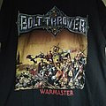 Bolt thrower warmaster shirt M Black Memoriam